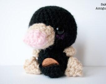 Amigurumi Niffler : Stuffed niffler Etsy