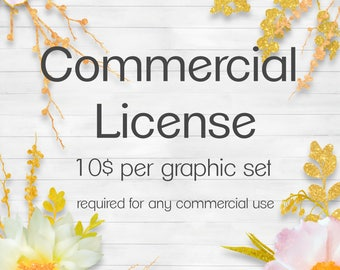 Commercial License for a single item