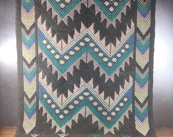 Textile Grey Table Runner