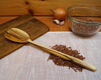 Carved wooden cooking spoon spatula from walnut,wooden spoon,kitchen wooden utensils,serving spoon,wood spoon,cooking,stirring wooden spoon