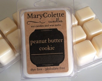 Peanut Butter Cookie Soy Wax Melts | Soy Wax Melts | Peanut Butter Cookie | Wax Melts