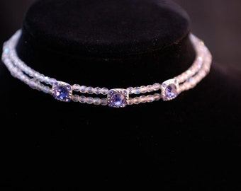 Choker with Swarovski elements