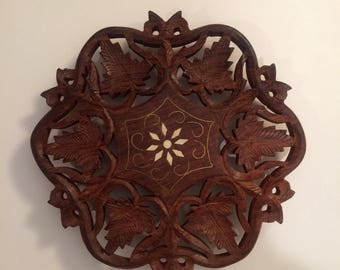 Wood Trivet from India