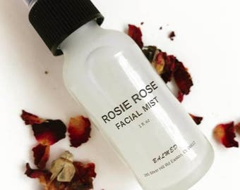 Rosie Rose Facial Mist, hydrating mist, cleansing mist, refreshing mist, anti-aging mist