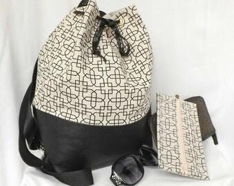 """Handbag """"Alois"""" 2 in 1. Door back, shoulder and hand."""