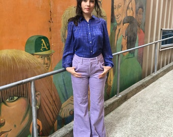 FORENZA lavender wide wale corduroy pants