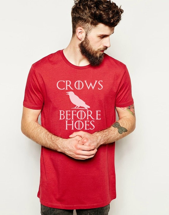 Game of Thrones - Crows Before Hoes T-Shirt
