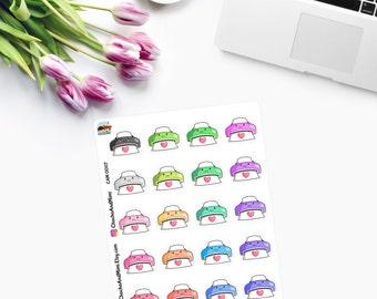Small Kawaii PRINTERS,  Planner Stickers CAM00117