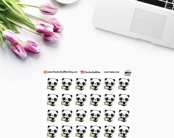 Amanda The Panda ~ PAYDAY ~ Planner Stickers CAM PANDA 002