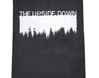 The Upside Down Cloth Large Back Patch