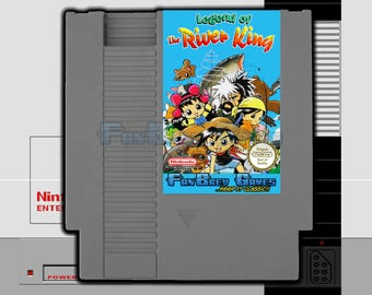 "SPECIAL ORDER! ""Legend Of The River King"" English Translation Nintendo NES Unreleased!"