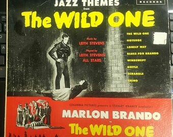 Jazz Themes from The Wild One Long Play Record MARLON BRANDO Decca 1953