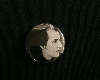 "Handmade The Damned 1"" Button Lapel Pin"
