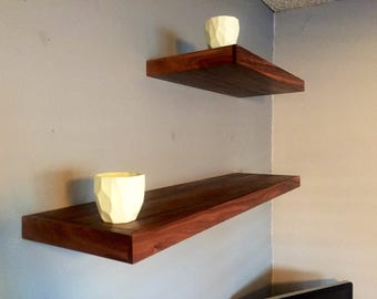 Floating Shelf - Walnut