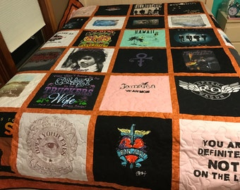 TShirt quilt/custom made - single sided (deposit only)