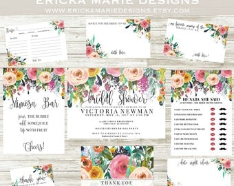 Bridal Shower Invitation | The Stella Collection