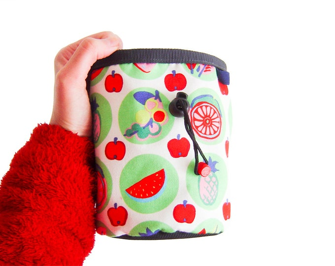 Rock Climbing Chalk Bag. Cute Chalk Bag for Bouldergym. Chalk Bag Climbing - L size