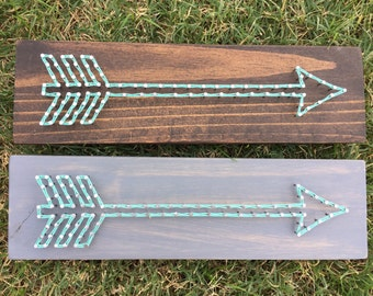 MADE TO ORDER Mini Arrow String Art Board