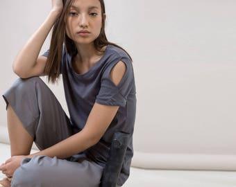 grey t-shirt,summer grey shirt,grey short shirt,short sleeve shirt,grey top,grey short shirt,grey shirt,grey designed shirt