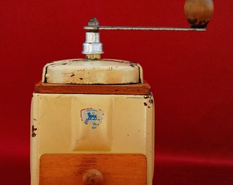 "SALE!!! French Vintage ""Peugeot Frères"" Coffee Grinder"