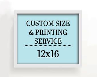 12x16 art print - custom printing services