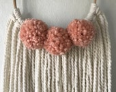 Hair Bow Organizer // Bow Hanger // Bow Holder // Wall Hanging // Nursery Decor // Baby Gift // Bow Hanger // Bow Storage // Cream