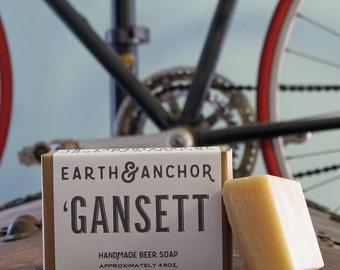 Narragansett Beer Soap || Gansett Lager Handmade Soap || Gifts for Him || Gifts under 10 || Organic Soap