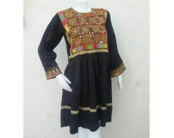 Tribal Pashtun Vintage Woman's dress