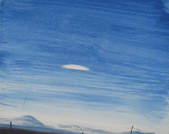 UFO over Holloman Air Force Base, NM, USA 1957