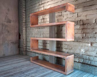 Serpentine Bookcase