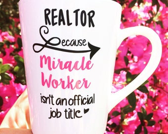 Realtor Cup- Realtor Gift- Realtor Mug- Realtor Tumbler- Realtor Gifts- Realtor Humor- Realtor Life
