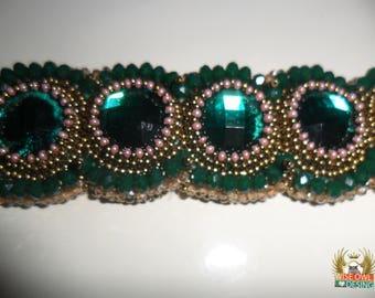 Crystalline Clamper Bracelet By Nese Altinisik