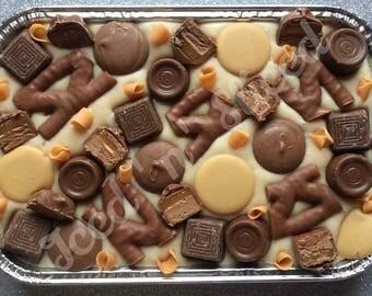 Caramel Crazy Fudge tray - handmade to order