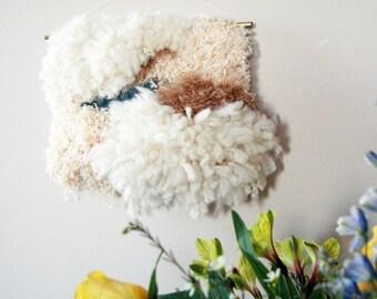 cloud dancer- woven wall hanging