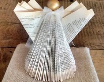 folded book art paper flowers foil prints cards by. Black Bedroom Furniture Sets. Home Design Ideas