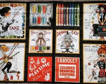 Draw Near - Panel - Quilting Treasures - Janet Wecker Frisch - Artsy Stuff - Inspirational