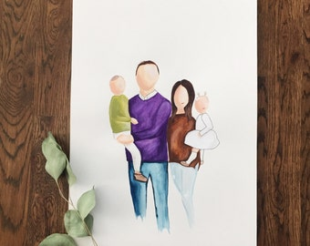 Custom Illustrated Portrait