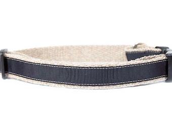 Dog collar / leash CLASSIC BLACK