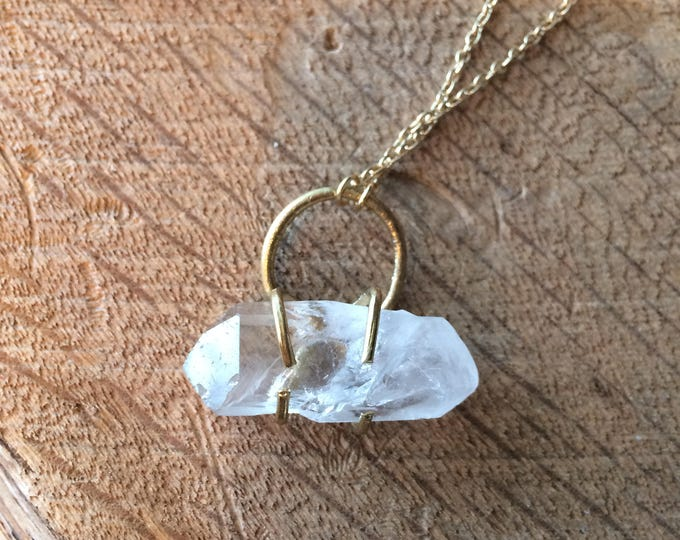Protection Amulet Crystal Necklace