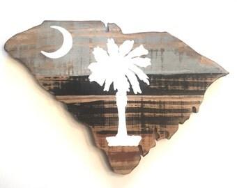 South Carolina Cutout
