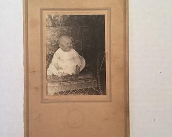 Vintage Baby Photo