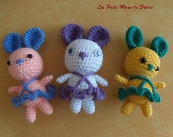 Petunia the Ballerina Bunny crochet