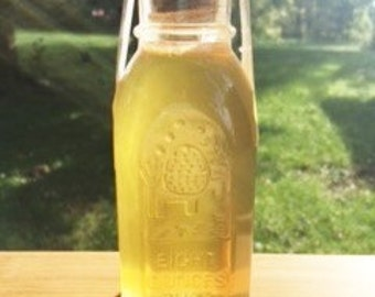 8 oz. Ginger flavor infused honey