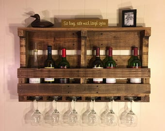8 Bottle Wine Rack