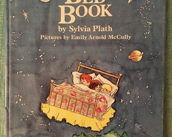 The Bed Book by Sylvia Plath Hardcover 1976 1st American Edition