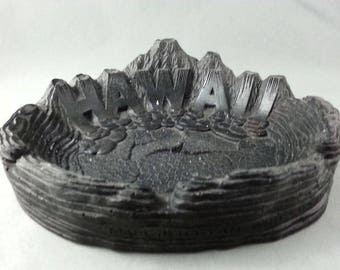 Vintage Coco Joe's Volcano Ashtray - Stamped 1964- Made with Lava