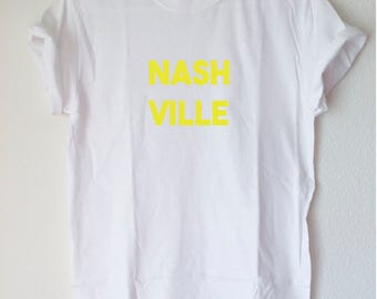 Graphic Tee: NASHVILLE