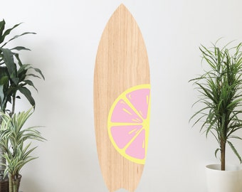 Citrus Series 1 Surfboard Wall Decal