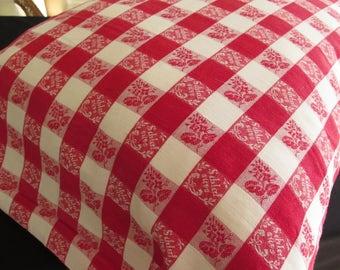 Country Pillowcase - sleep well - Farmhouse bed Linen