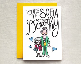Golden Girls Mother's Day Card, Mother's Day Card, Golden Girls Card